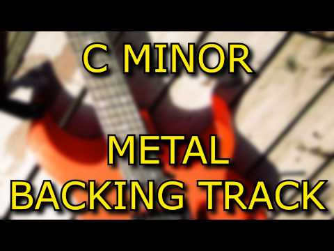 C Minor Metal Guitar Backing Track (Pitch Shifted)