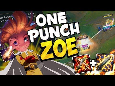 ⭐ ONE PUNCH ZOE ⭐ League Of Legends thumbnail
