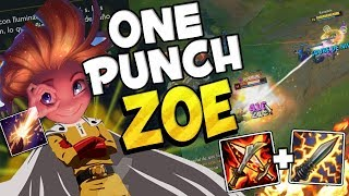 ⭐ ONE PUNCH ZOE ⭐ League Of Legends