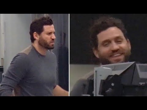 Edgar Ramirez Out And About After Filming Gianni Versace Series