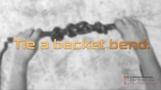 Essentials 6th Edition - Tie a becket bend