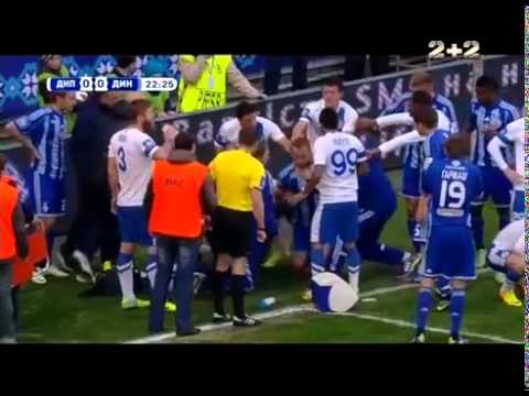 Ukraine football player saved rival's life after injury