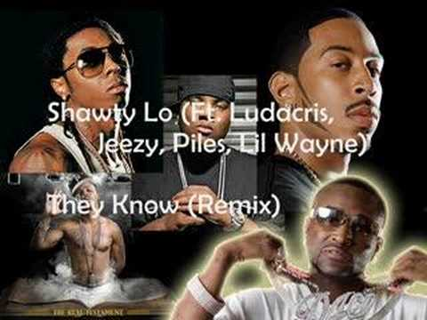 Shawty Lo - They Know Official Remix (explicit & no DJ)