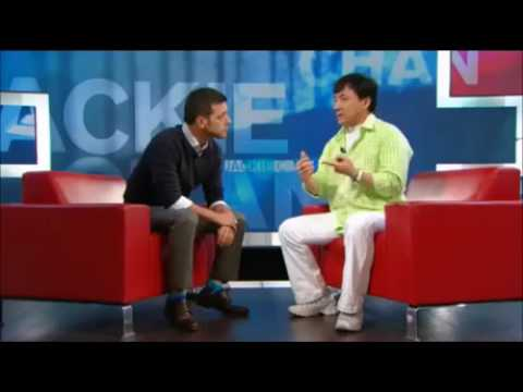 Jackie Chan's funny interview about his son
