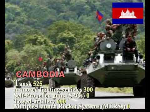 LAOS VS CAMBODIA MILITARY POWER  2017- 2018