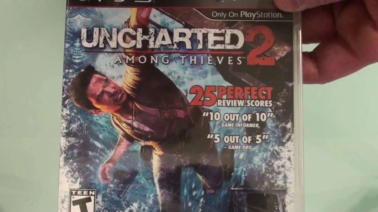 Uncharted 2 Among Thieves Unboxing Ps3 Exclusives Box Art Exibition Youtube