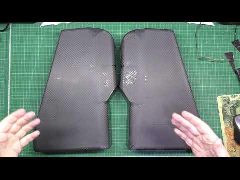 High powered DIY eBike MSVA build part 16 - Carbon fibre skinning part 2