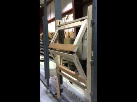 Point Five Motorized Vertical Bi Fold Mock Up - YouTube