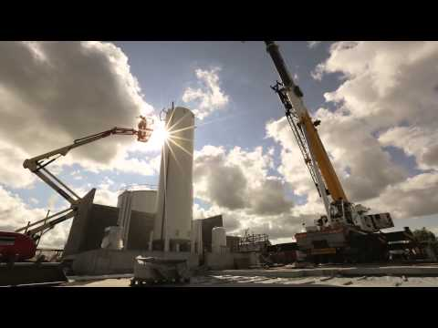 Building a new LNG station (Timelapse) / Mattheeuws Eric Transport