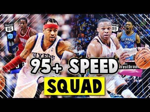 ALL 95+ SPEED SQUAD!! Ft. PINK DIAMOND WESTBROOK!! | NBA 2K17 MyTEAM SQUAD BUILDER