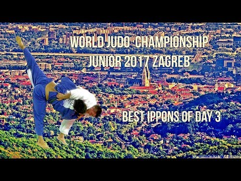 Best ippons in day 3 of World Judo Championship Juniors 2017 Zagreb