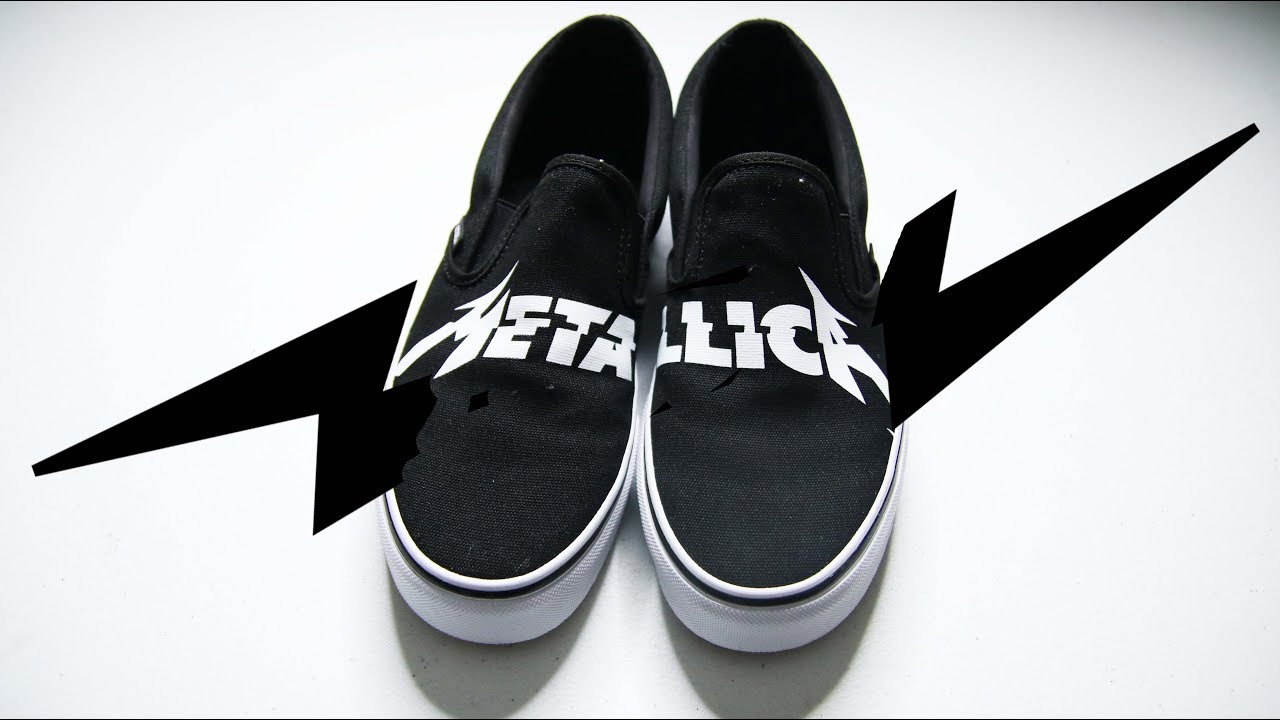 2a3414fa00 VANS METALLICA SLIP ON    Best Budget Sneaker ( 65) - YouTube
