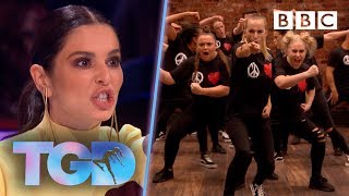 Cheryl's passions rise as fierce Unity UK smash it! - The Greatest Dancer | Auditions