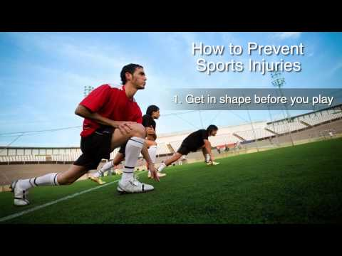 How to Prevent Injuries in Sports