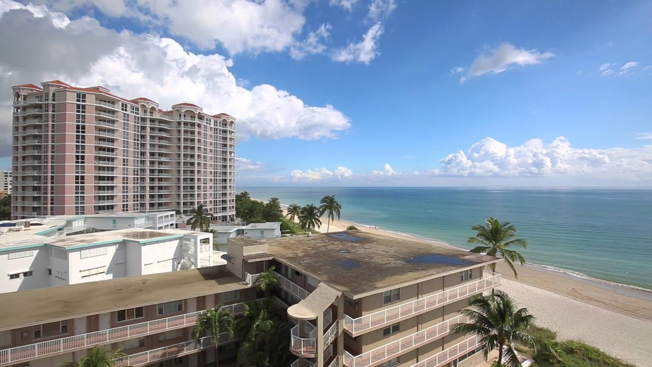leisure towers 1500 s ocean blvd unit 702 pompano beach fl youtube