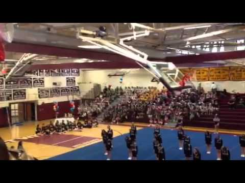 Mount Sinai middle school cheer competition 2012
