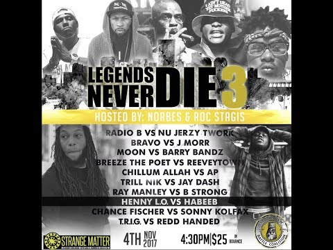 Habeeb versus Henny L.O. - SouthPaw Battle Coalition - Legends Never Die 3