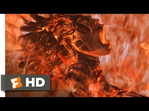 Species (10/11) Movie CLIP - Up in Flames (1995) HD