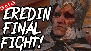 The Witcher 3: Final Boss Eredin Fight Gameplay DEATH MARCH DIFFICUTLY!
