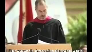 Steve Jobs - Trzy inspirujące historie które odmienią Twoje życie! (Napisy PL)