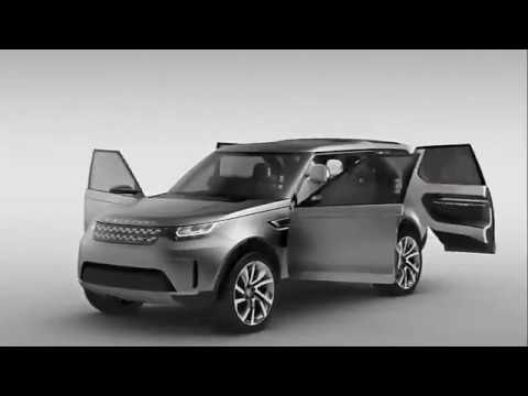 Land Rover Discovery Luxury 2017 Vision Concept