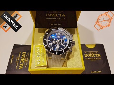 Unboxing Invicta Men`s Watch 24171 Pro Diver