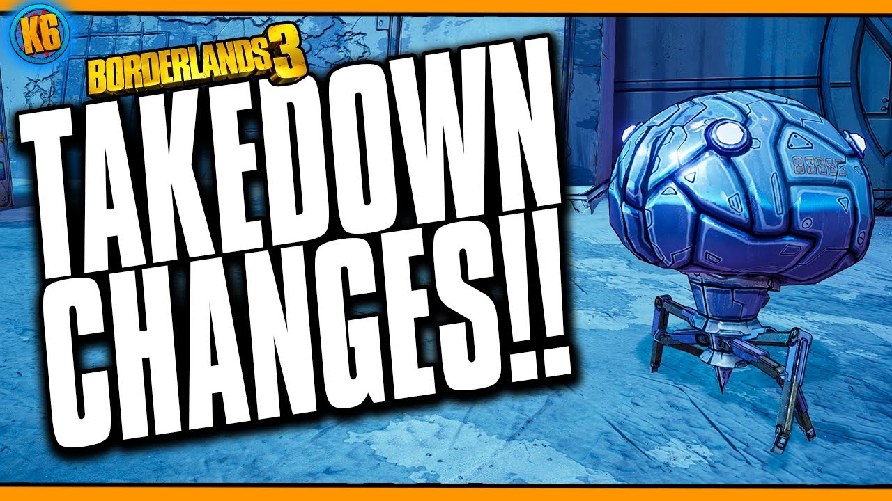 TAKEDOWN CHANGES?! - Easier to Solo? Also... where have I been? [Borderlands 3] thumbnail