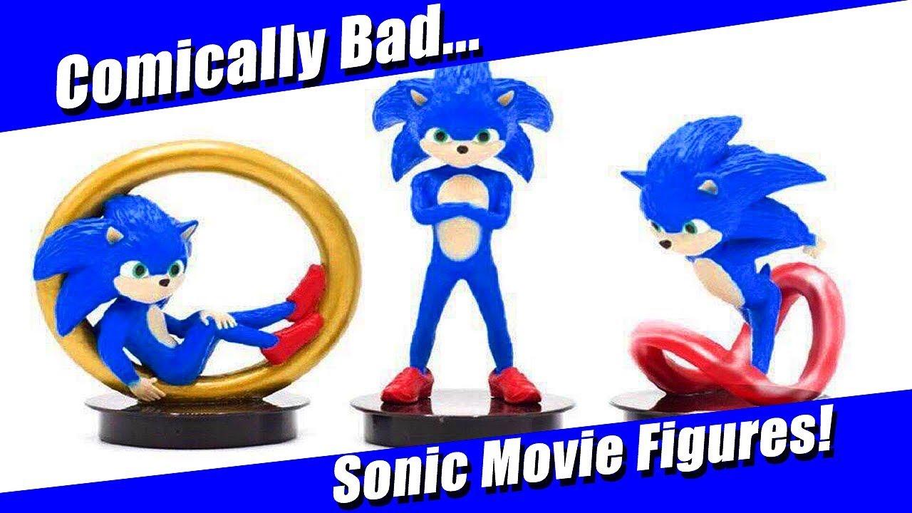 Hilariously Bad Sonic Movie Figures Revealed Youtube