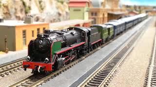 Locomotoras de vapor RENFE 141 mikado