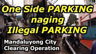 ONE SIDE PARKING, TINIKITAN LAHAT! Mandaluyong Clearing Operation Update 2019