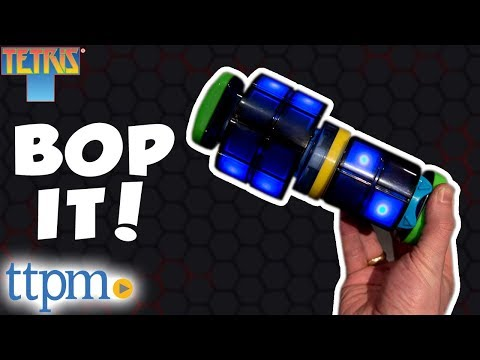 Bop It! Tetris Game Review - Rules And Instructions | Hasbro Toys And Games