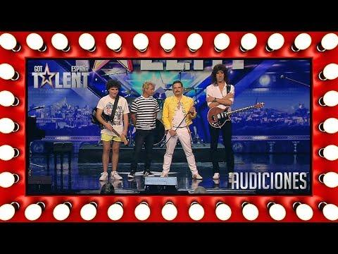 Este gran homenaje a Queen conquista al público y al jurado | Audiciones 8 | Got Talent España 2018
