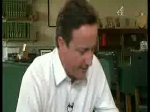 David Cameron losing the plot in Gay Times interview