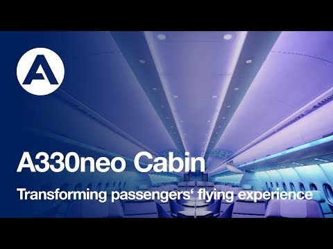 A330neo cabin: transforming passengers' flying experience