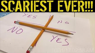scariest ever Charlie Charlie pencil challenge