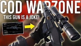Call of Duty Warzone - This gun is a JOKE!