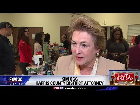 Harris County Sheriff's & District Attorney's offices host toy drive at Haverstock Hills complex