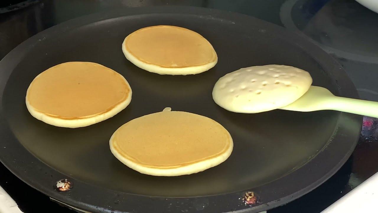 Вкусные панкейки на завтрак