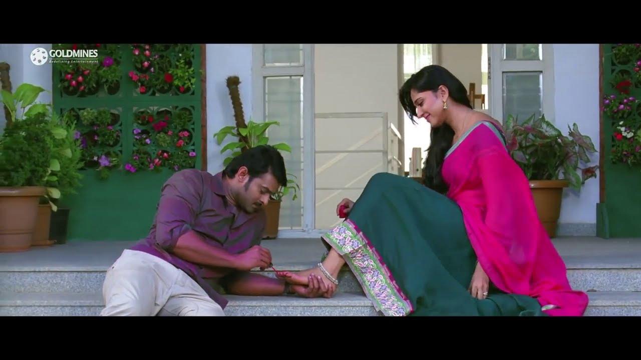 Prabhas Anushka's Romantic scene from Mirchi (Khatarnak ...