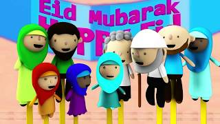 What happens after Ramadan? Two Eids - Islamic Festival Kids Cartoon