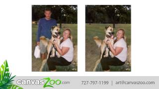 Fix Old Photos - Photo Restorations - Picture Repair at CanvasZoo