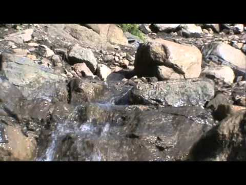 Waterfall stream !!! 1 hour sound of nature rushing  water of a alpine stream,gentle and relaxing.