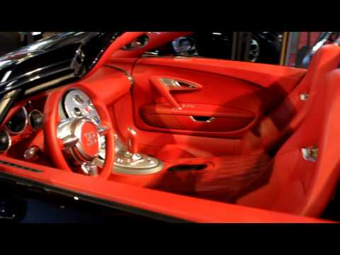 Bugatti Veyron 16.4 Grand Sport in Brussels 1080p HD