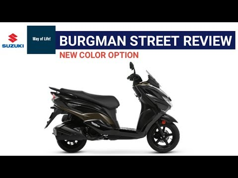 Suzuki Burgman Street Details | Review | Mileage | Price? | Features | Spec | minute