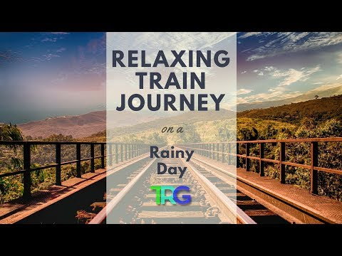 Relaxing Train Journey on a Rainy Day | With Peaceful Classical Music | Full HD No Loop 🚂 69