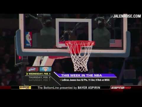 NBA Week In Review - 720p HD - ESPN NBA Fastbreak