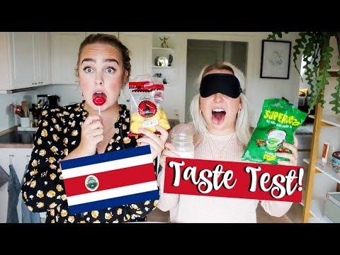 COSTA RICA TASTE TEST | Julia Sofia ♡