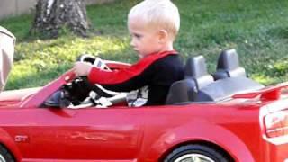 Crazy Turbo Mustang Burnout!