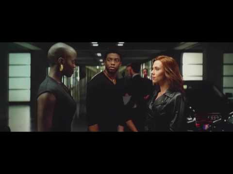 Florence Kasumba in captain America