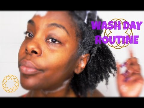4B/4C Natural Hair Wash Day  with Carol's Daughter Black Vanilla Line